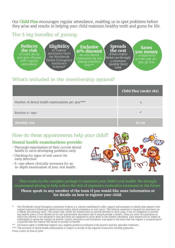 children dental plan uxbridge